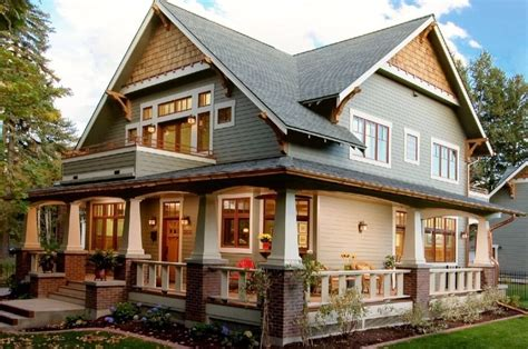 Architecture, Craftsman Home Exterior Paint Colors Design