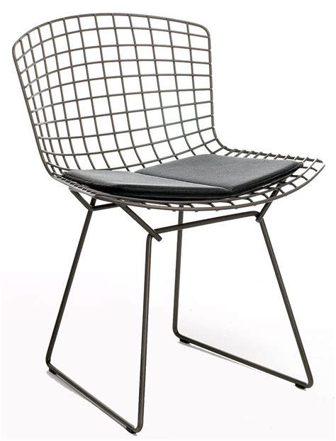 chaises bertoia les chaises iconiques rééditées harry bertoia side