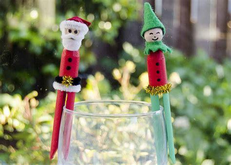 Peg Craft Christmas Decorations-kiwi Families
