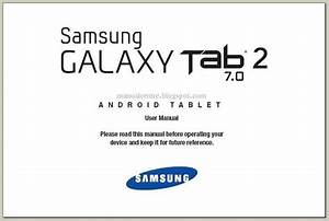 Samsung Galaxy Tab 2 7 0 Manual