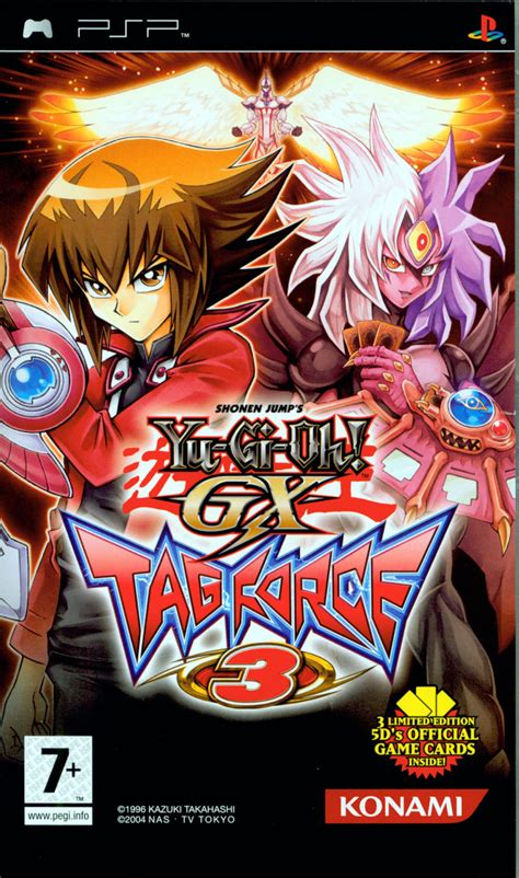 force tag psp yu gi oh gx front game mobygames covers box keep