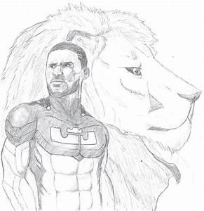 Lebron James As A Superhero By Samakowolf On Deviantart