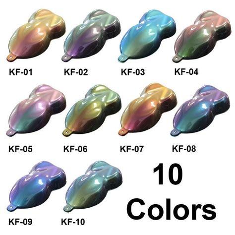paint net color flip gallon custom chameleon flip flop color changing pearl