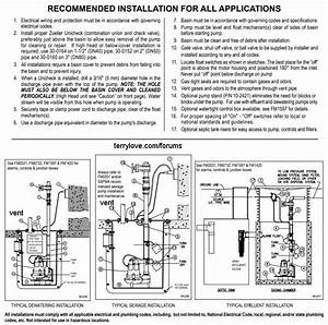 35 Sewage Ejector Pump Venting Diagram