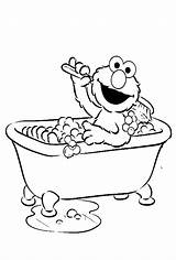 Coloring Bath Pages Clipart Bubble Bathtub Elmo Clean Street Sesame Were Fresh Clip Printable Kidsdrawing Drawing Books Transparent Adult Guppies sketch template