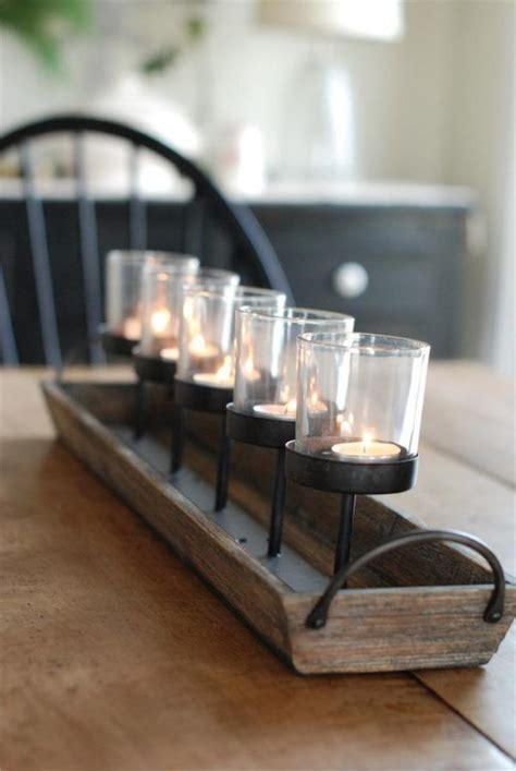 kitchen table centerpiece ideas  everyday  glass