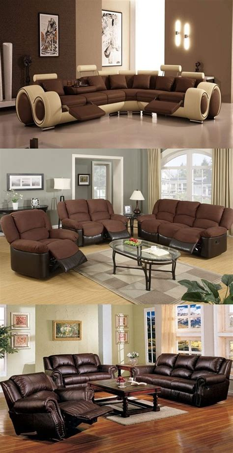 How To Decorate A Room For A - how to decorate a living room with brown furniture