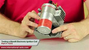 Testing A Marelli Style Electronic Ignition Coil