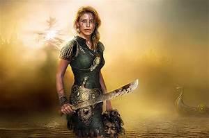 Woman Warrior by Andrey Zavgorodniy