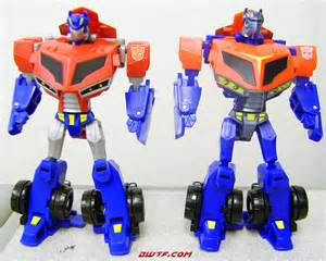 transformers animated armor up optimus prime toy review bwtf