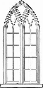 Gotische Fenster Konstruktion : gothic church windows clip art vorlagen geometrie und ~ Lizthompson.info Haus und Dekorationen