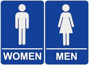 Fantastic Male Female Bathroom Signs and Restroom Decor
