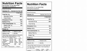 editable nutrition label nutrition label template word 28 With blank nutrition facts label template