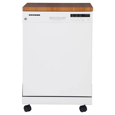Lave Vaisselle Portatif Lave Vaisselle Portatif Ge Gpf400sgfww