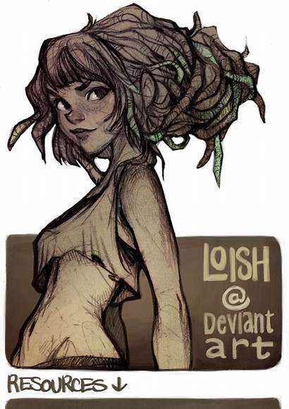 Loish Deviantart Drawing Characters Baarle Lois Anime