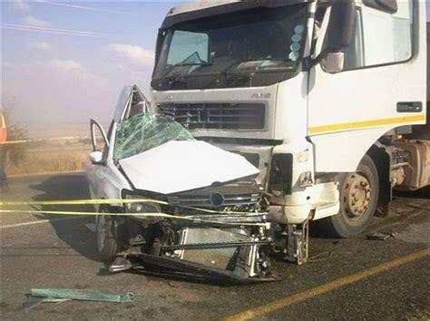 Semi Truck Crashed Into Car