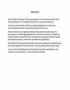 Essay Proposal Sample My School Essays In English Free Writing A Reaction Paper Argumentative Essay Topics High School also Yellow Wallpaper Essays My School Essays Essay About Money My School Essay In Hindi For  English Is My Second Language Essay