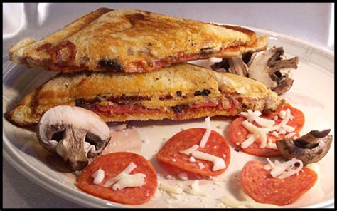 grilled pizza sandwich recipe foodcom