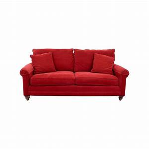 Red curved sofa teachfamiliesorg for 2 piece red sectional sofa
