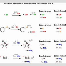 Introduction To Acidbase Reactions — Master Organic Chemistry