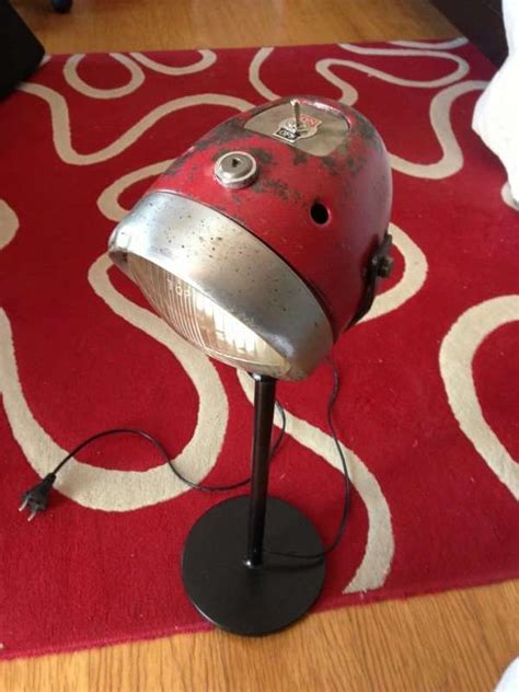 repurposed motorcycle part lamps motorcycle headlight lamp