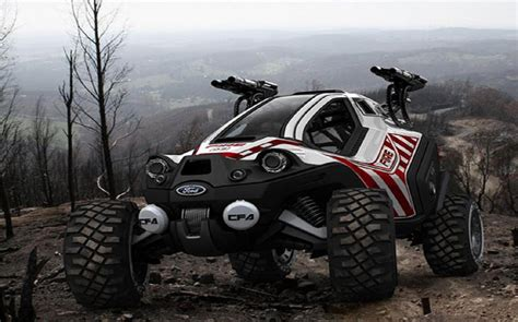 offroad cer ford amatoya off road car in the mountain top