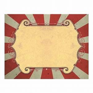 Carnival template for vintage wedding flyer | Discover ...