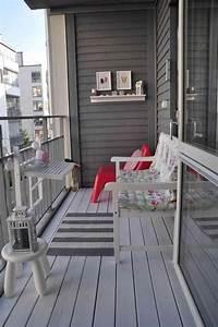 Balkongestaltung Kleiner Balkon : 25 beste idee n over kleine balkons op pinterest klein ~ Michelbontemps.com Haus und Dekorationen