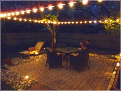 lighting ideas for outdoor patio effective outdoor patio