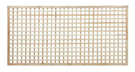 Square Wood Trellis by Square Trellis Panel 40mm Gap Paint Options The