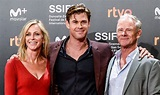 Chris Hemsworth's Parents Join Him at 'El Royale' Spain ...