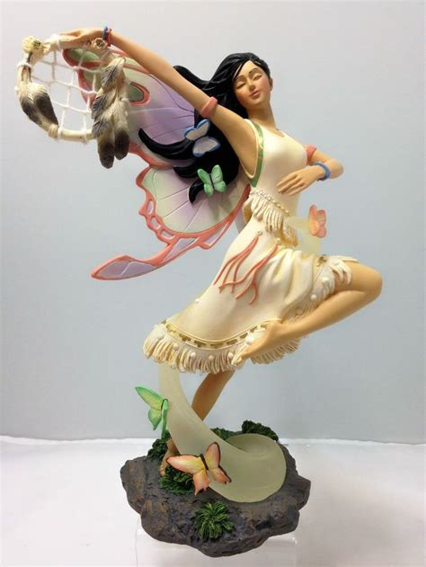 fluttering elegance fairy figurine bradford exchange