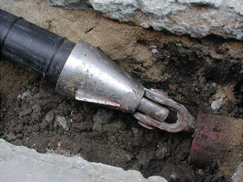 Pipe Replacement by Trenchless Pipe Bursting
