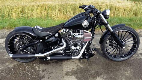 Harley Davidson Fxsb Breakout Exhaust Sound