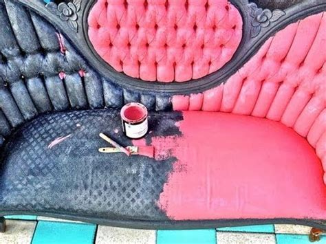 paint  distress  upholstered sofa  cece caldwell chalk paint youtube