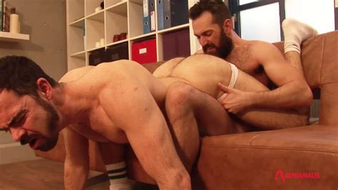 Hairy Men Fuck Balls Deep