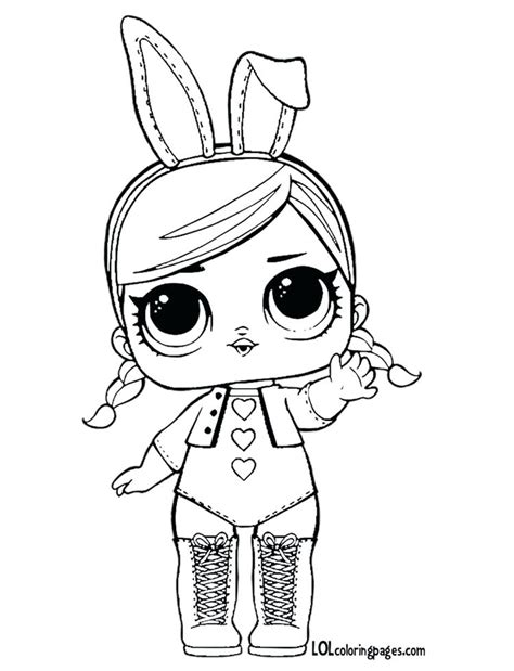 Coloring Lol Surp by Lol Doll Coloring Pages At Getcolorings