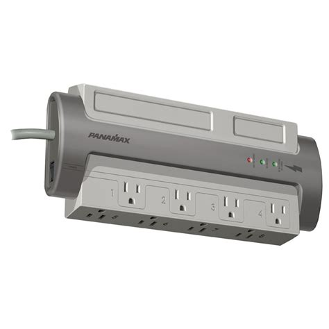panamax surge protector panamax m8 ex 8 ac outlet surge protector 1407
