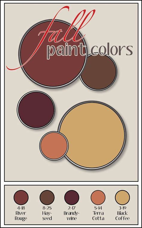 25 best ideas about fall paint colors on fall