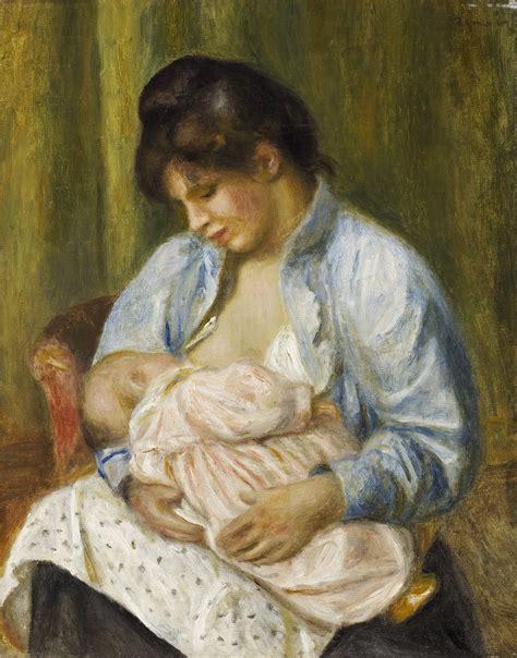 Filepierre Auguste Renoir A Woman Nursing A Child