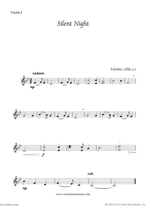 Use these quick and easy piano practice tips to learn to play this easy piano arrangement of silent i am a piano teacher and music publisher with a master's degree in music education. Free Silent Night sheet music for string quartet - High Quality
