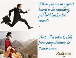 Golden quote from Sadhguru ~ Life after joining Isha Yoga