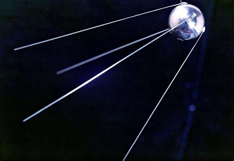 Sputnik 1, Soviet Spacecraft Photograph by Ria Novosti