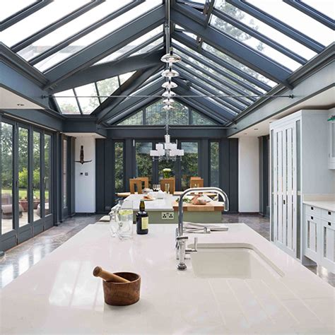 painting kitchen island six of the best glass extensions ideal home