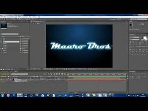 After Effects Efeito Neon em Texto