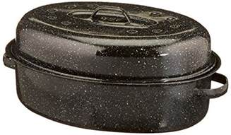 granite ware 0509 2 18 inch covered oval roaster import