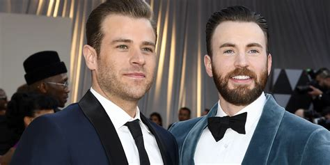 Scott Evans Hilariously Reacts to Brother Chris Evans ...