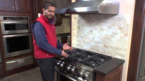 "KitchenAid 36"" Pro Style Duel Fuel Range Oven at Caplan's"