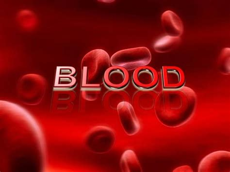 Blood Ppt Templates Free by Blood Cells Authorstream