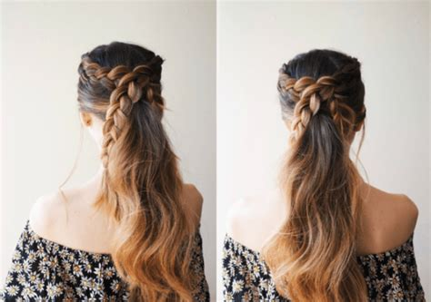 16 Cute And Easy Ideas And Tutorials For Hairstyles You Should Try This Spring Hair Treatment Balding Haircut Elsa Tx Young Hairstyles For Wedding Androgynous Haircuts Ftm Fall Looks 2014 Penn State Little Boy Curly 2016 Length Chart Female